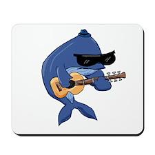Blue-sy Whale Mousepad
