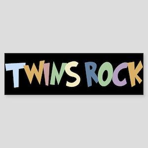 Twins Rock - Bumper Sticker