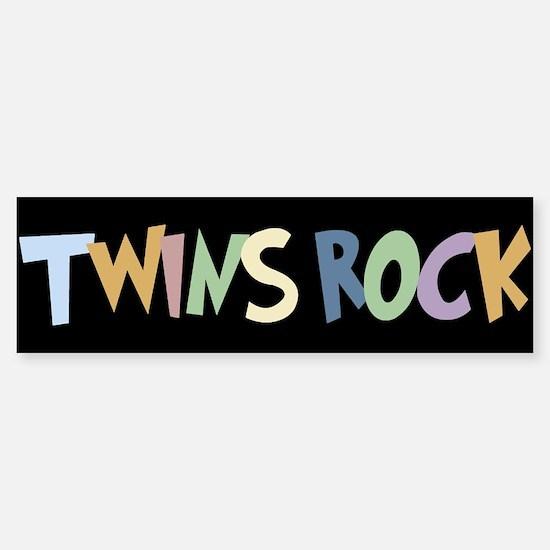 Twins Rock - Bumper Bumper Bumper Sticker