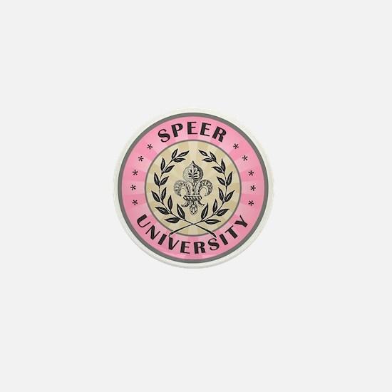Speer Last Name University Mini Button