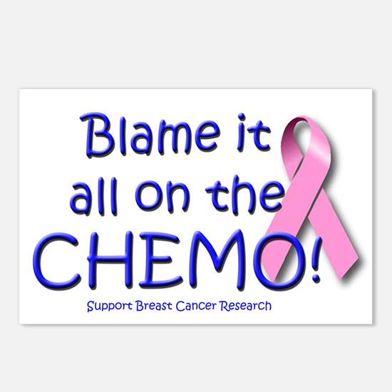 Blame it All On the Chemo! Postcards (Pack of 8)
