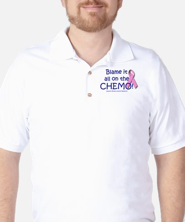 Blame it All On the Chemo! Golf Shirt