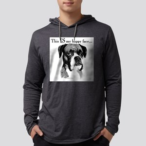 Boxer Happy Face Long Sleeve T-Shirt