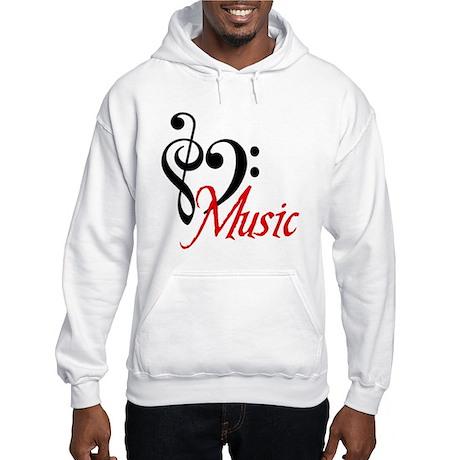 Music Hooded Sweatshirt