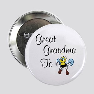 Great Grandma To Bee Button