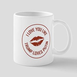I LOVE YOU LIKE... Mugs