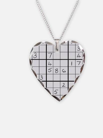 Unique Sudoku Necklace