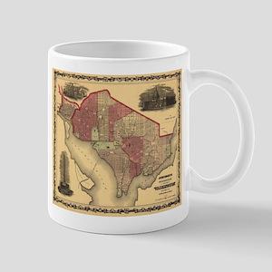 Washington DC (1862) Mug