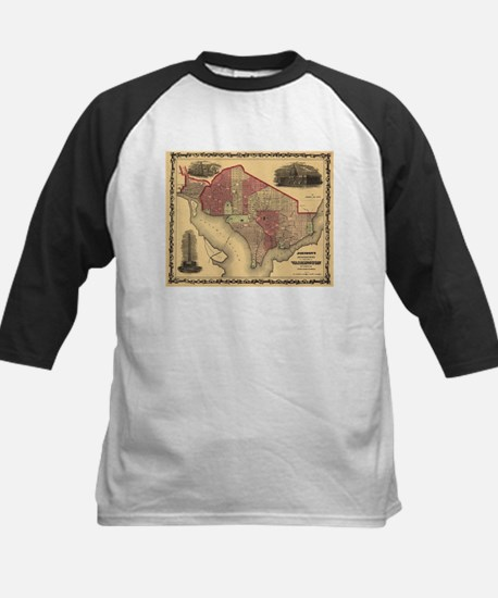 Washington DC (1862) Kids Baseball Jersey