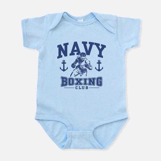 Navy Boxing Infant Bodysuit