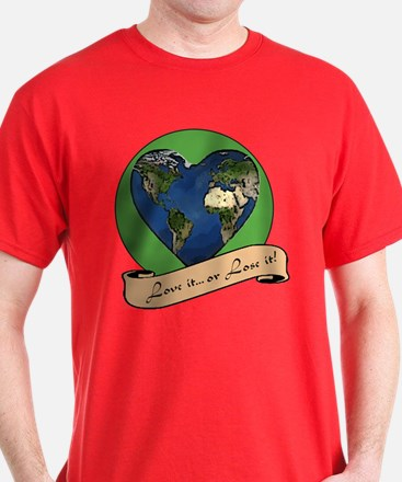 Cool Love the earth T-Shirt