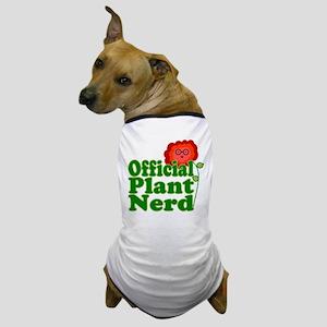 Plant Nerd Dog T-Shirt