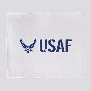 USAF: USAF Throw Blanket