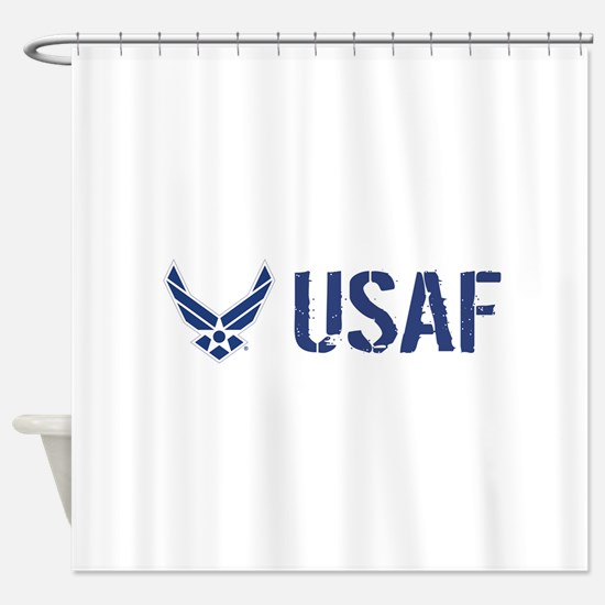 USAF: USAF Shower Curtain