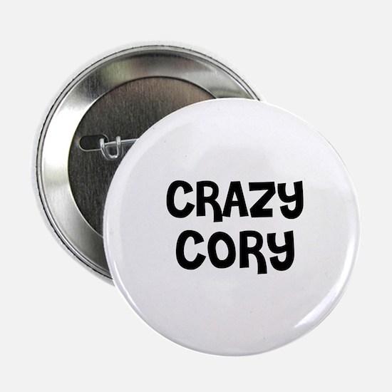 CRAZY CORY Button