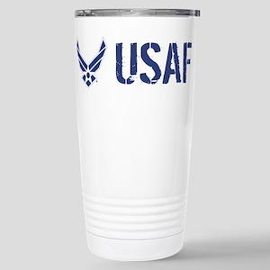 USAF: USAF Stainless Steel Travel Mug