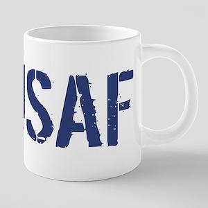 USAF: USAF 20 oz Ceramic Mega Mug