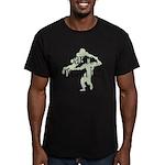Dance Damn It! Men's Fitted T-Shirt (dark)