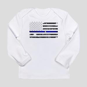 Thin Blue Line - Blue Lives Ma Long Sleeve T-Shirt