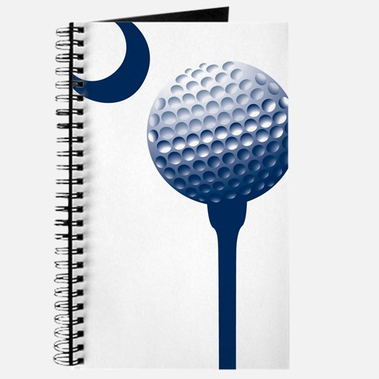 Funny Crescent moon Journal