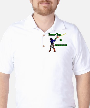 Laser Tag (Get Silly) Golf Shirt