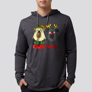 Pug Xmas Long Sleeve T-Shirt