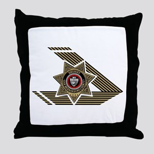 Sheriff San Bernardino Throw Pillow