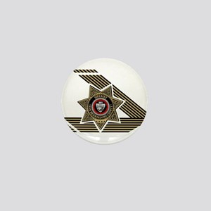 Sheriff San Bernardino Mini Button