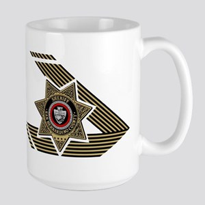 Sheriff San Bernardino Large Mug