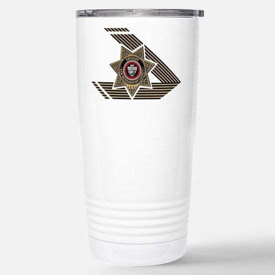 Sheriff San Bernardino Stainless Steel Travel Mug