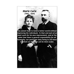 Humanity Marie Curie Posters