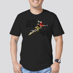 Sticks And Stones Dirt Bike Motocross T-Shirt