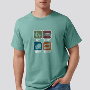 Eat Sleep Rugby Repeat Football Goal Kick T-Shirt