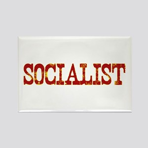 Socialist Rectangle Magnet