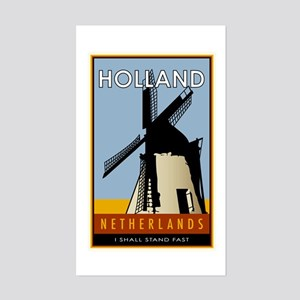 Netherlands Rectangle Sticker