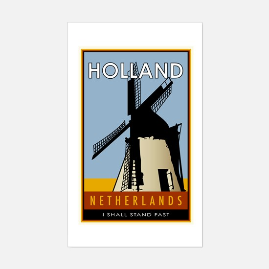Netherlands Rectangle Decal