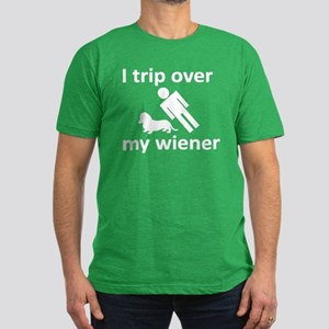 Wiener Trip Men's Fitted T-Shirt (dark)
