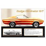1967 Dodge Eliminator Large Poster