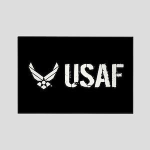 USAF: USAF Rectangle Magnet