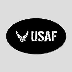 USAF: USAF 20x12 Oval Wall Decal