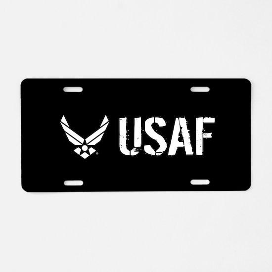 USAF: USAF Aluminum License Plate