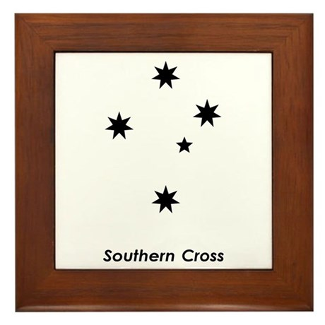 Southern Cross Framed Tile