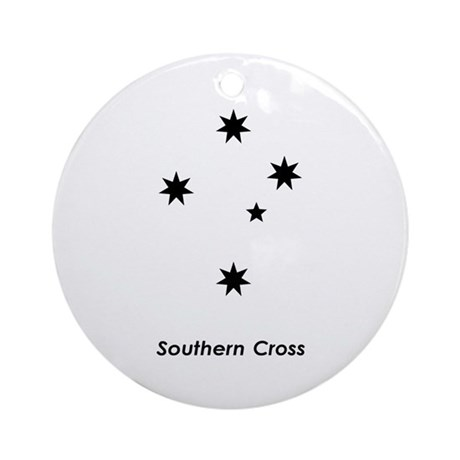 Southern Cross Ornament (Round)