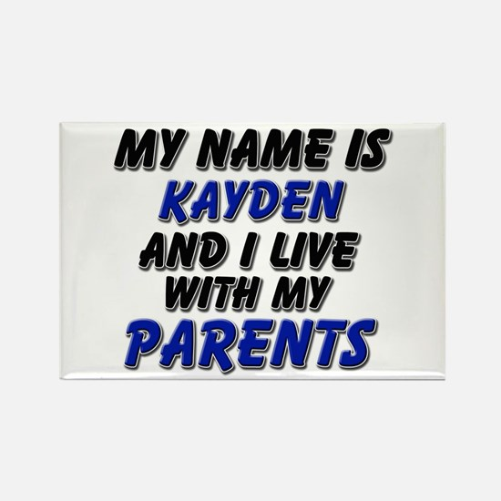 my name is kayden and I live with my parents Recta