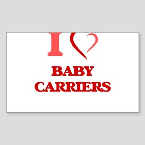I Love Baby Carriers Sticker