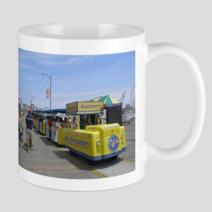 Watch the Tram Car Stainless Steel Travel Mugs