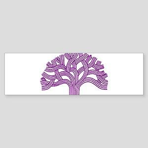 Oakland Plum Tree Bumper Sticker