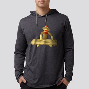 Code Sock Monkey Long Sleeve T-Shirt
