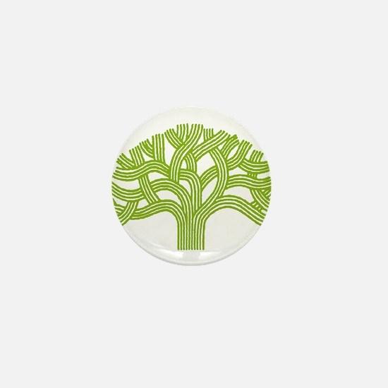 Oakland Lime Tree Mini Button