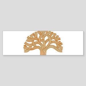 Oakland Orange Tree Bumper Sticker